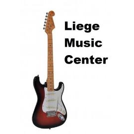 electrische gitaar SX retro 3/4 sunburst