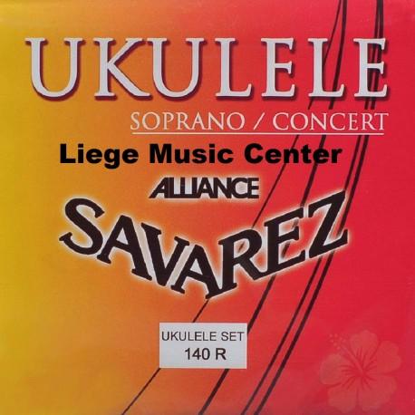cordes ukulélé soprano Savarez Alliance