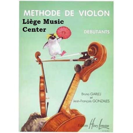 méthode de violon Garlej/Gonzales