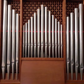 orgelpijpen (7 registers)