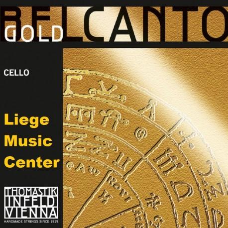 cordes violoncelle Belcanto Gold