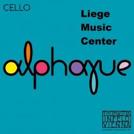 cordes violoncelle Alphayue 4/4 medium