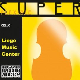 cordes violoncelle Superfexible 4/4 medium
