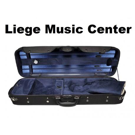 valise violon 4/4 Leonardo Pro noir/bleu