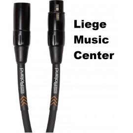 câble microphone Roland black 6 mètres